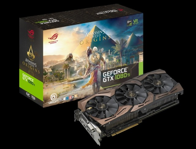 ROG Strix GeForce GTX 1080 Ti Assassins Creed Origins Edition