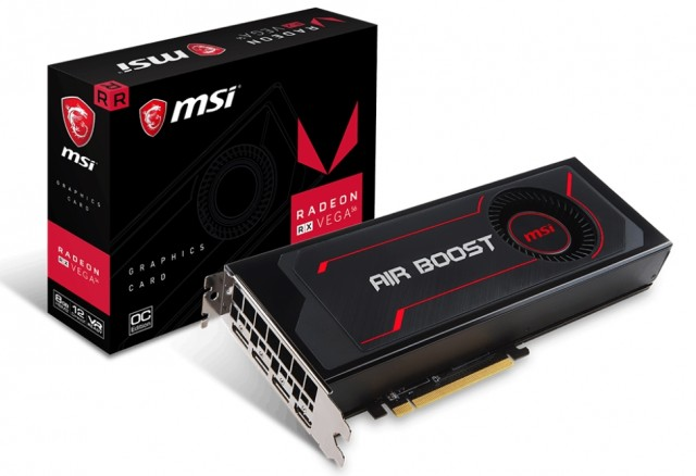 MSI Radeon RX Vega 56 Air Boost 8G