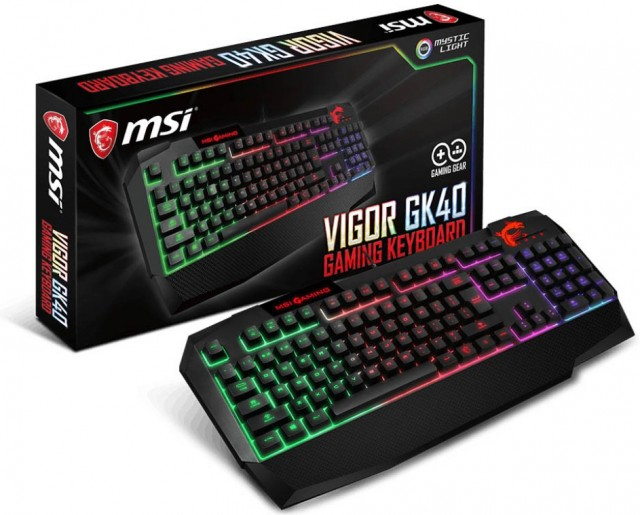 MSI Vigor GK40 MSI Clutch GM10