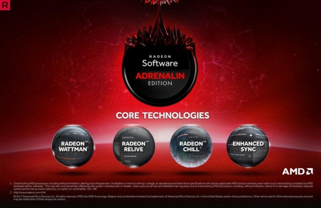 Radeon Software Adrenalin Edition Q2 2018