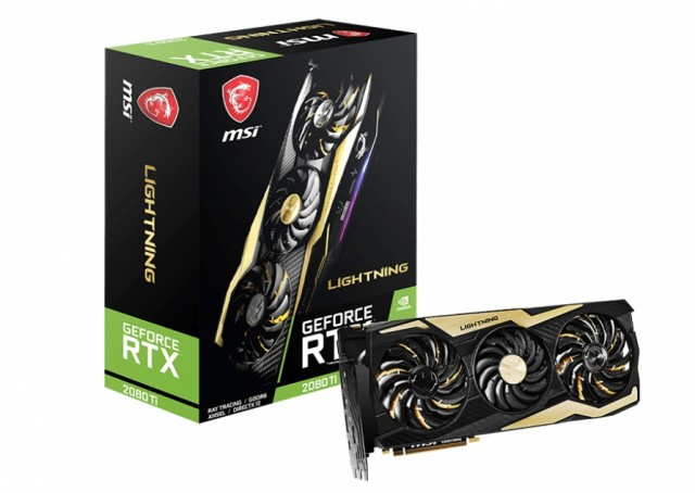 MSI GeForce RTX 2080 Ti LIGHTNING