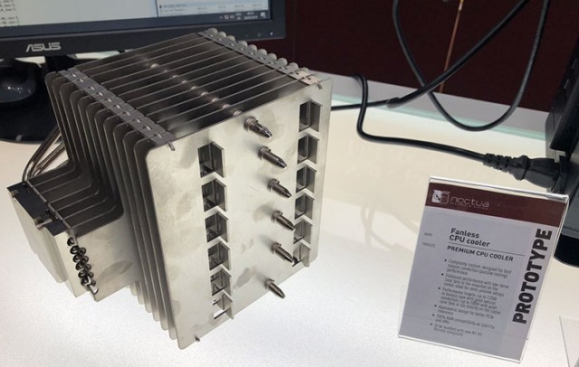 Noctua Fanless CPU Cooler