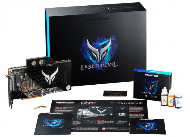 PowerColor Liquid Devil Radeon RX 5700 XT