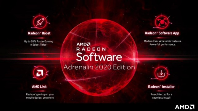 AMD Radeon Software Adrenalin 2020 Edition