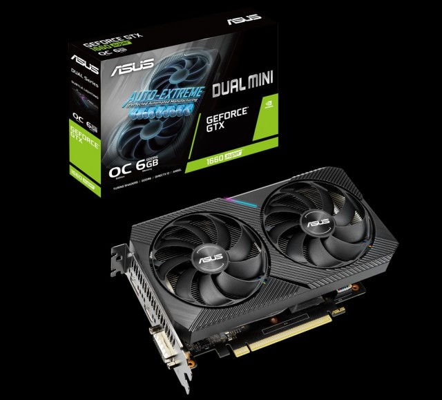 ASUS Dual GeForce GTX 1660 SUPER MINI