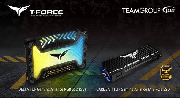 TEAMGROUP ASUS TUF Gaming Alliance