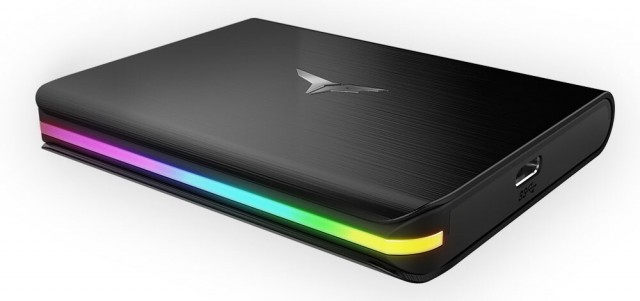 TEAMGROUP T-FORCE TREASURE TOUCH External RGB SSD
