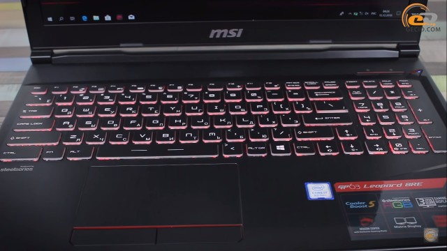 MSI GP63 Leopard 8RE
