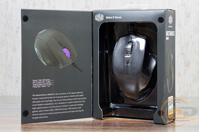 Cooler Master MasterMouse MM520 MM530