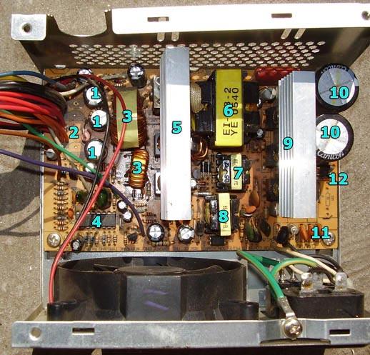 Схема блока питания компьютера 400w фото 961