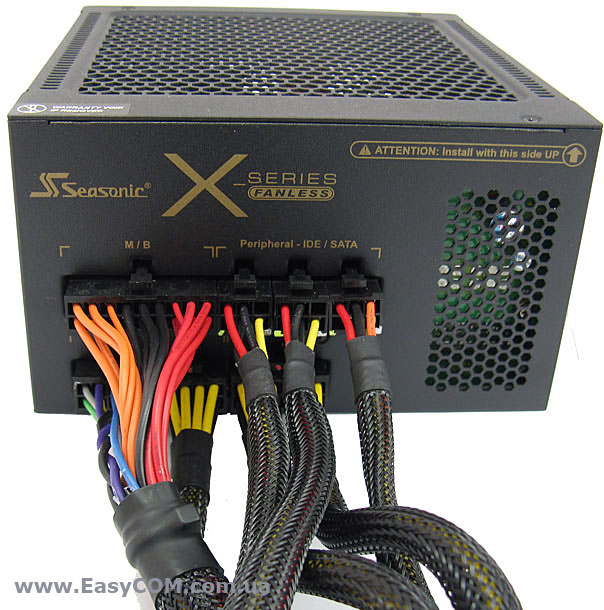 Seasonic X-460 FANLESS
