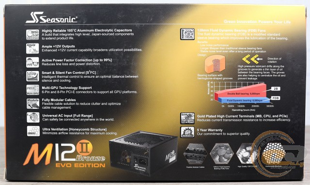 Seasonic M12II-520 Bronze Evo Edition (SS-520GM2)