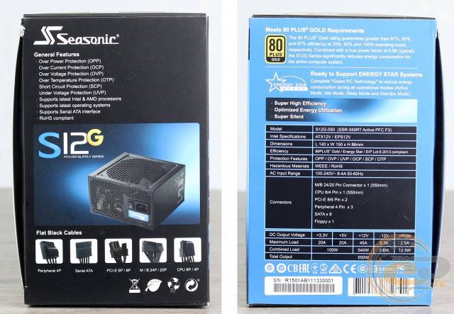 Seasonic S12G-550 (Seasonic SSR-550RT)