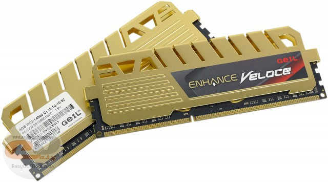 DDR3-1866 GeIL ENHANCE Veloce GENV38GB1866C10DC