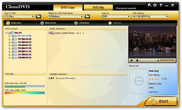 5. 4. 3. 2. CloneDVD official site - Best DVD Copy & Clone Software, Co