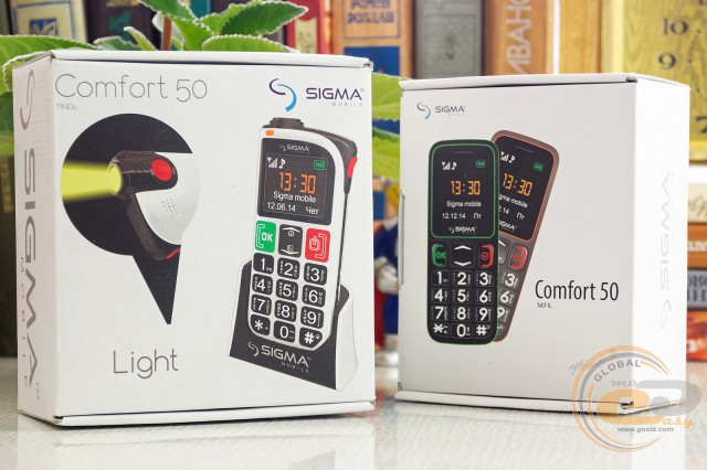 Sigma Comfort 50 Mini3 Comfort 50 Light
