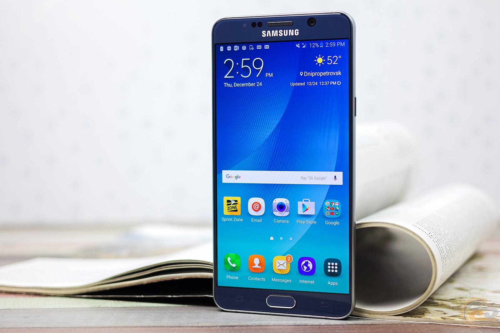 Огляд і тестування смартфона Samsung Galaxy Note5 e3e998c2e8f71