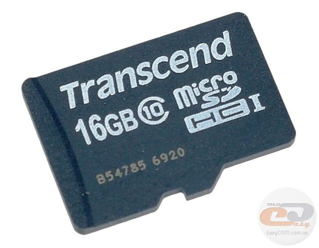 Transcend microSDHC Class 10 Premium (TS16GUSDC10) f2c4cc01229b1