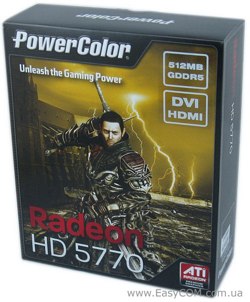 PowerColor Radeon HD 5770 512MB (AX5770 512MD5-H)