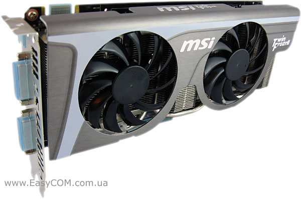 MSI GeForce GTX 560 Ti Twin Frozr II/OC