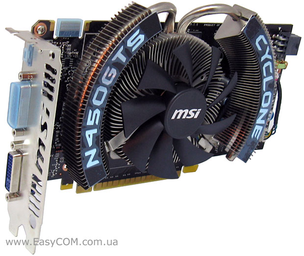 MSI GeForce GTS 450 Cyclone/OC (N450GTS Cyclone 1GD5/OC)