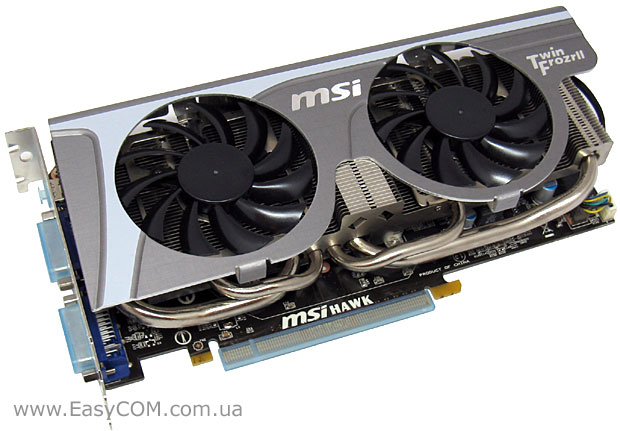 MSI GeForce GTX 460 Hawk 1 ГБ GDDR5 (N460GTX Hawk)