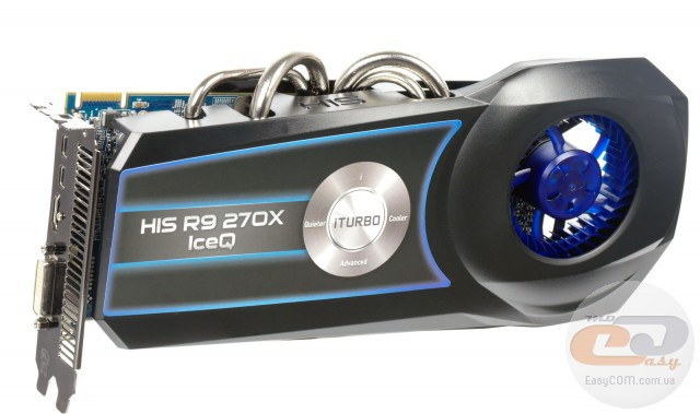 HIS R9 270X IceQ Boost Clock (H270XQ2G2M)