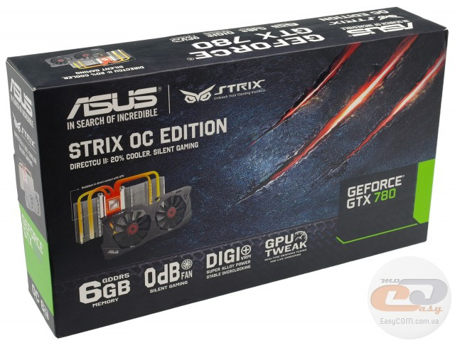 ASUS GeForce GTX 780 STRIX OC (STRIX-GTX780-OC-6GD5)