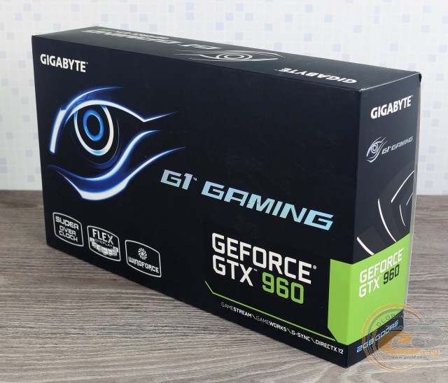 GIGABYTE GeForce GTX 960 G1.GAMING (GV-N960G1 GAMING-2GD)