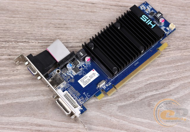 HIS 5450 Silence 1GB DDR3 PCI-E DLDVI-D/HDMI/VGA (H545HR1G)