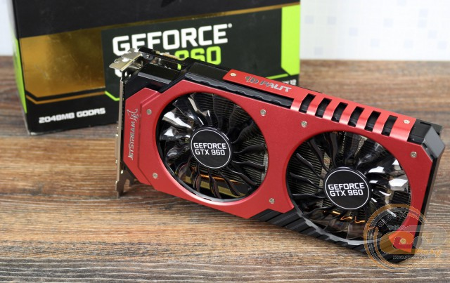 Palit GeForce GTX 960 Super JetStream (GNE5X960T1041-2060J)