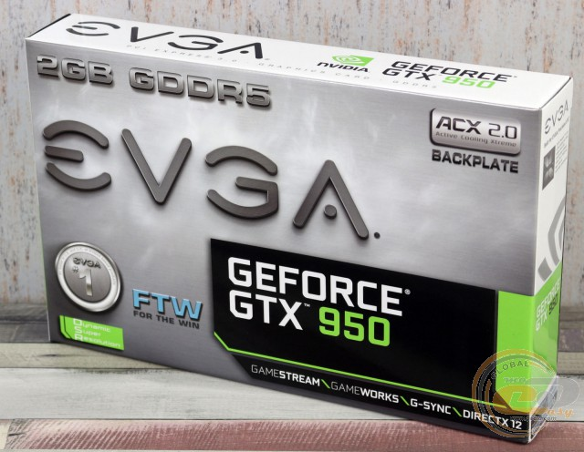 EVGA GeForce GTX 950 FTW GAMING ACX 2.0