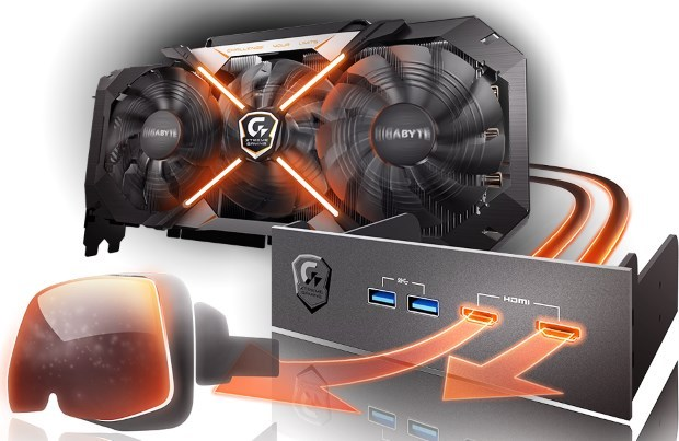 GIGABYTE GeForce GTX 1070 Xtreme Gaming 8G (GV-N1070XTREME-8GD)