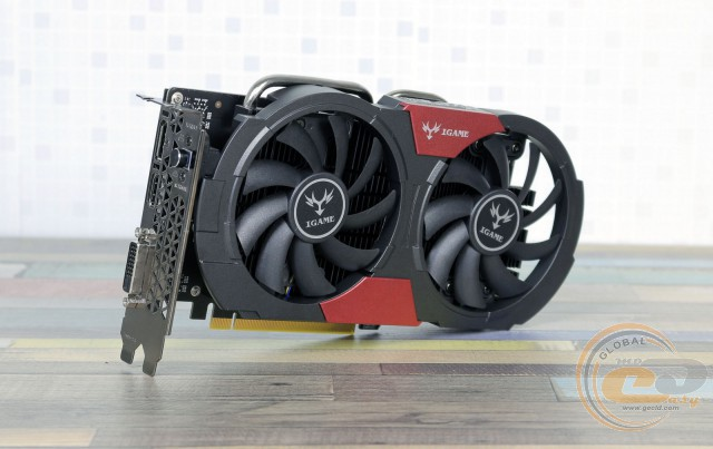 Colorful iGame GTX 1050 Ti U-4G