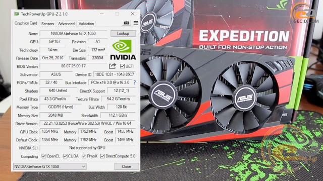 GeForce GT 1030 vs GTX 1050 vs RX 460