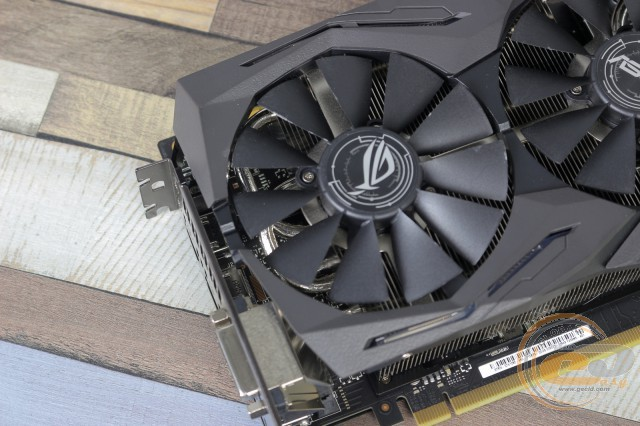 ROG STRIX GeForce GTX 1080 Advanced edition 8GB 11Gbps (ROG-STRIX-GTX1080-A8G-11GBPS)