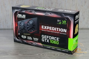ASUS Expedition GeForce GTX 1060 6GB (EX-GTX1060-6G)