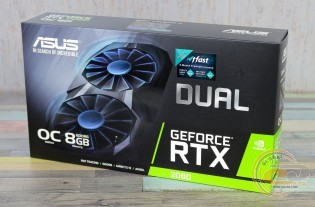 ASUS Dual GeForce RTX 2080 OC edition